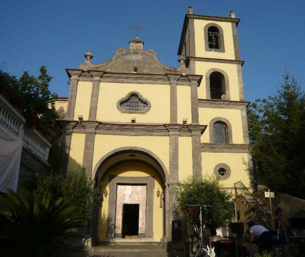 Chiesa di S.Andrea Apostolo - Preazzano di Vico Equense